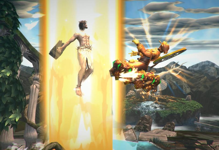 Jezus kontra Budda w grze Fight of Gods [przez którą rząd Malezji zablokował Steama]