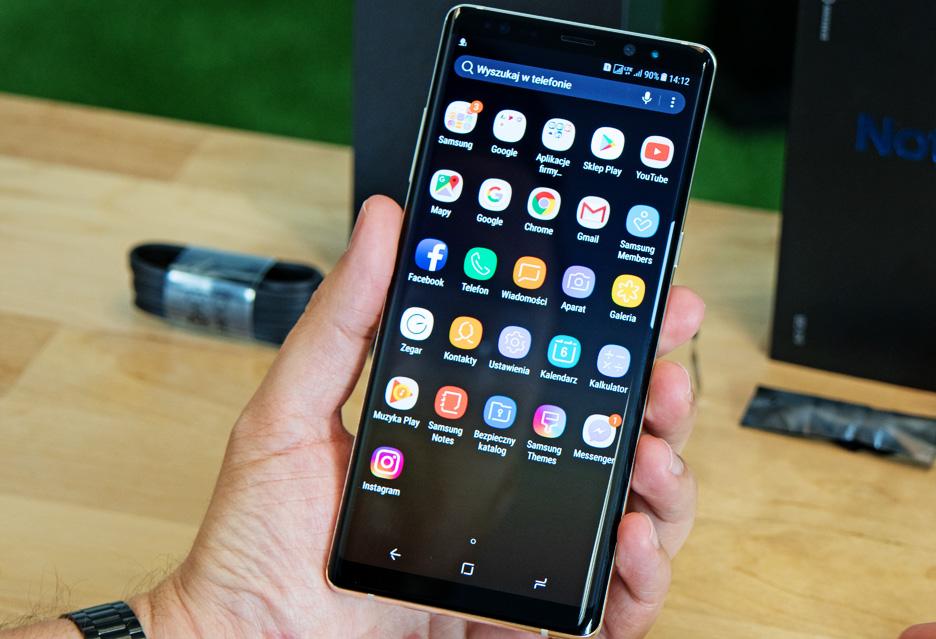 Samsung Galaxy Note 8 - unboxing i pierwsze wrażenia