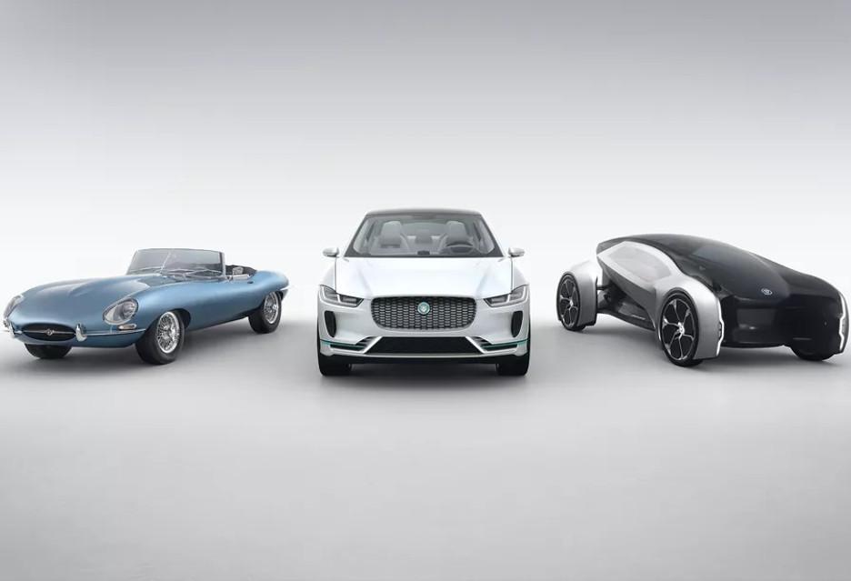 Klasyczna i futurystyczna - dwie koncepcje Jaguara