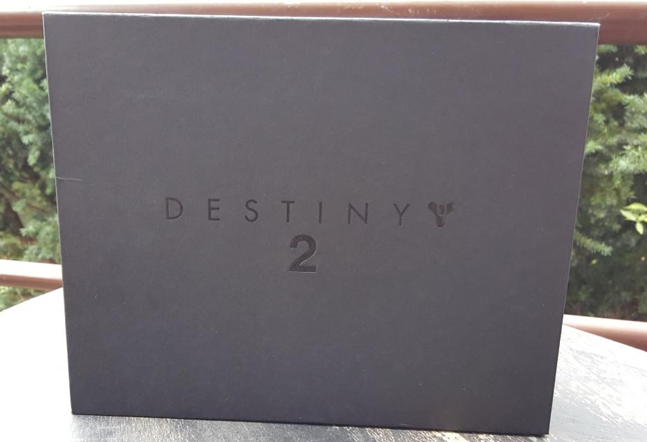 Gra Destiny 2 dotarła do nas w takim oto pudełku