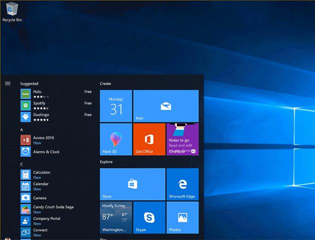 Windows 10 Fall Creators Update na ostatniej prostej