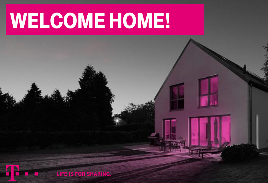 T-Mobile wkracza do domu - nielimitowany INTERNET DOMOWY