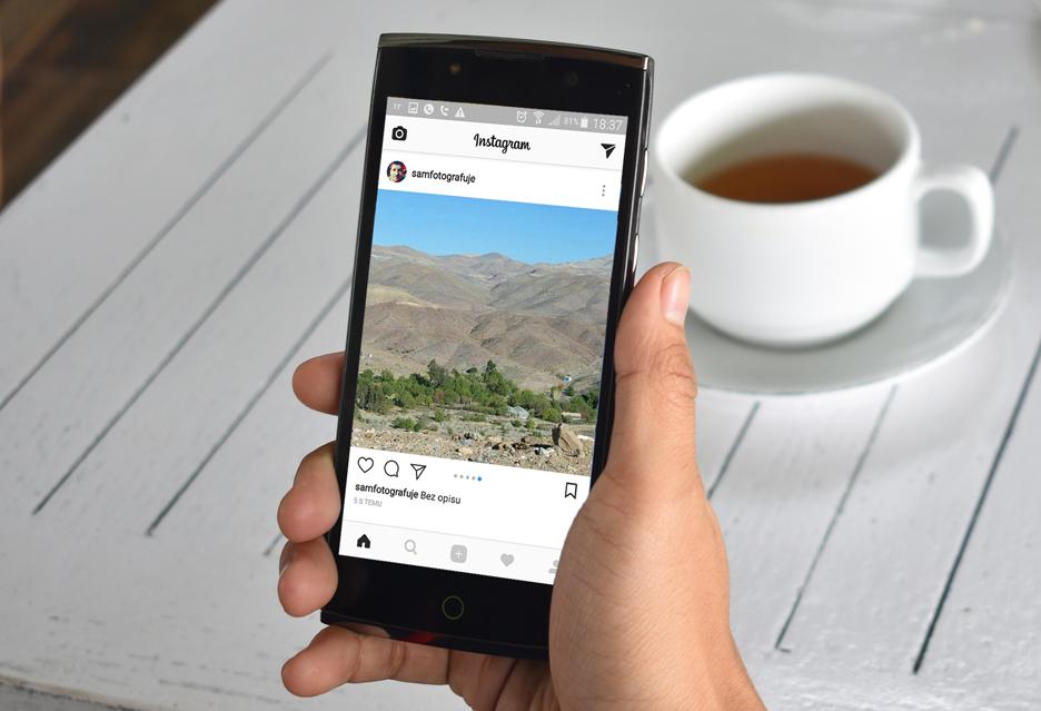 Jak pokazać panoramę na Instagramie? - szybki poradnik
