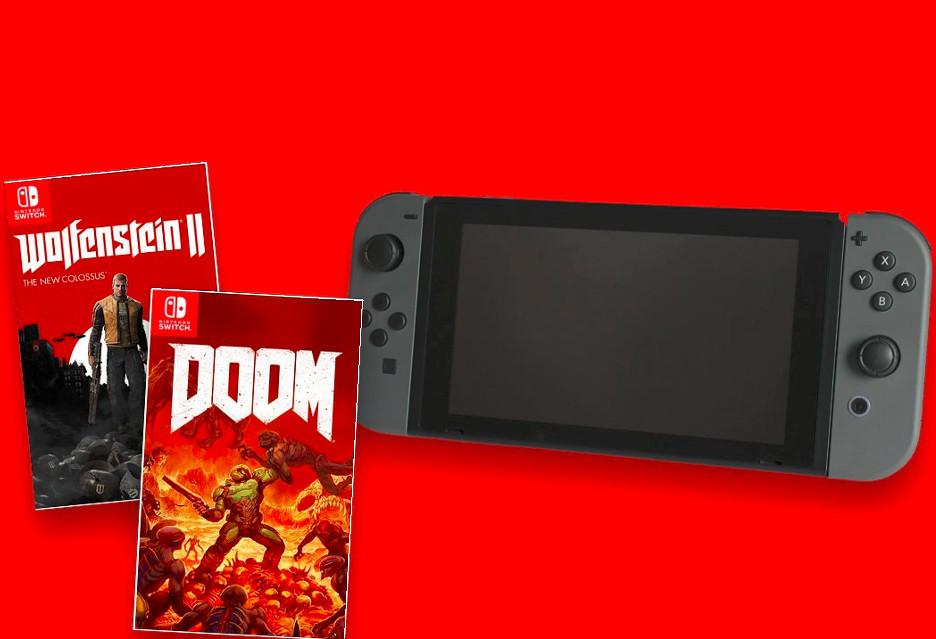 DOOM i Wolfenstein II trafią na Switcha (iinne newsy z Nintendo Direct)