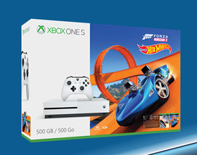 Xbox One S w zestawie z Forza Horizon 3 + Hot Wheels