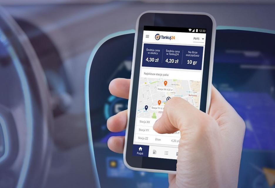 Aplikacja Tankuj24 pomoże wybrać najtańsze, ale też najlepsze paliwo