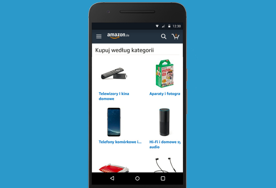 Amazon (wreszcie) z aplikacją po polsku