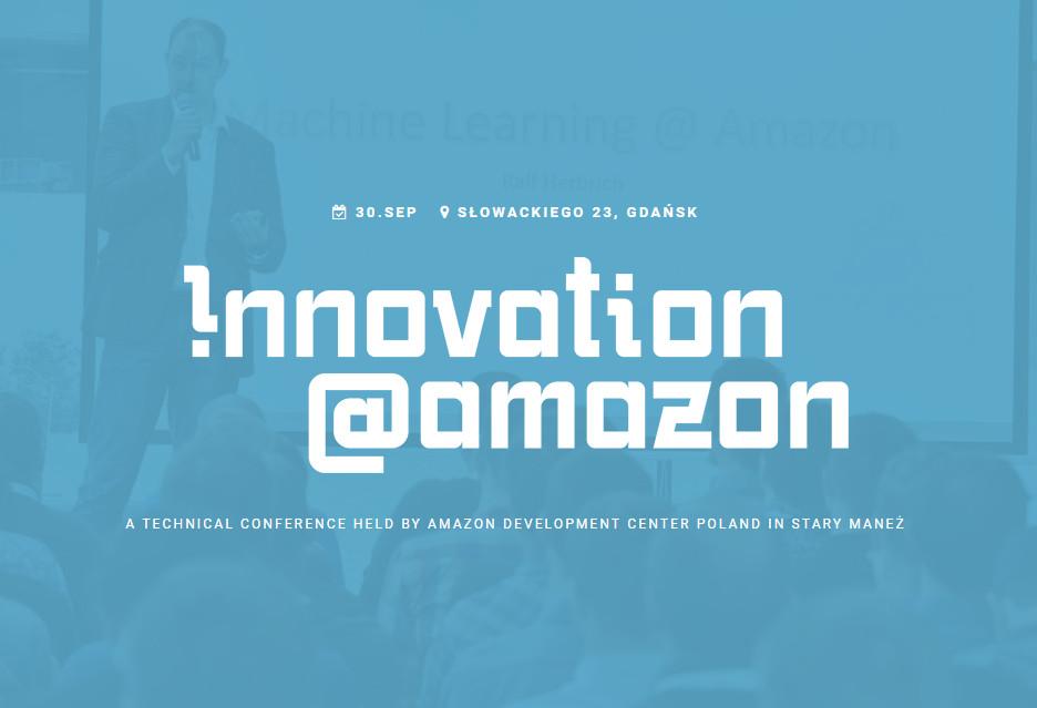 Gdańsk stolicą innowacji - Amazon pochwali się nowinkami