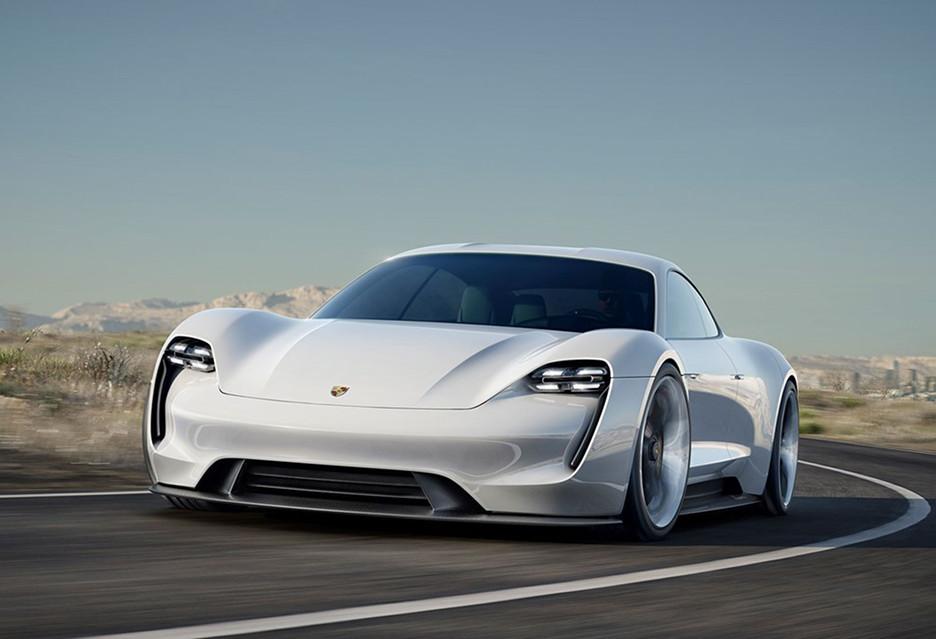 Ta sama cena - Porsche Mission E i Tesla Model S (100D)