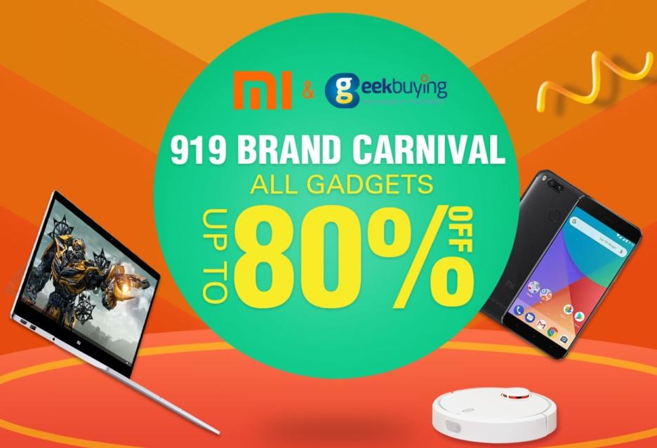 Xiaomi Brand Carnival w Geekbuying