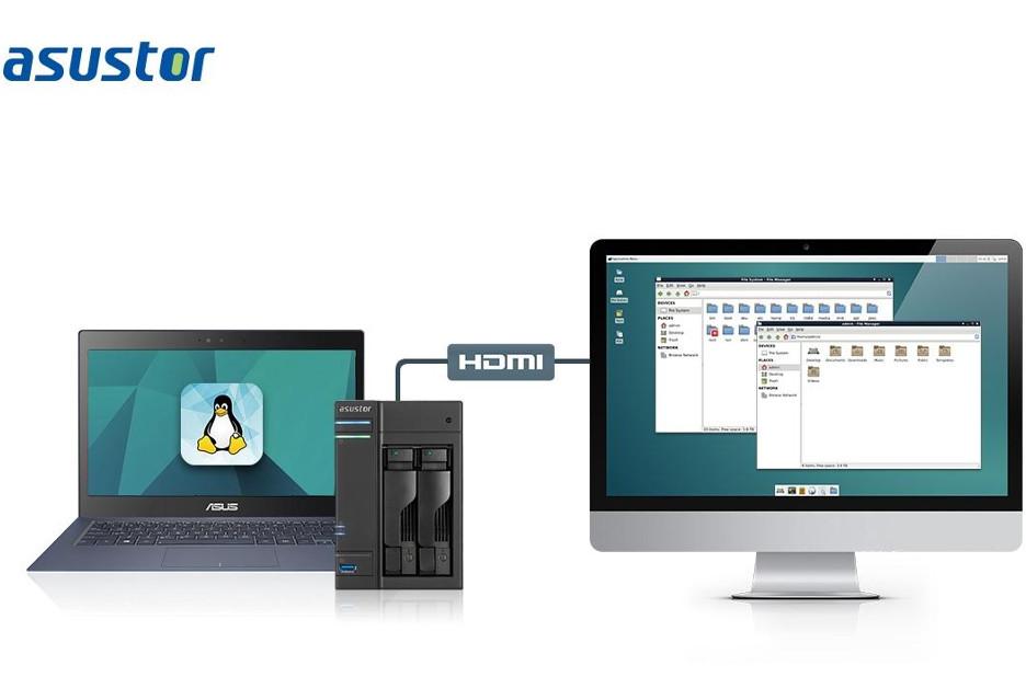 Asustor otwiera się na Linux - nowość dla użytkowników NAS-ów