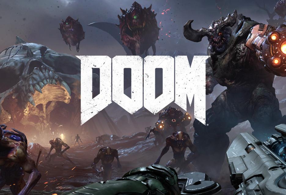 Doom na Nintendo Switch wygląda tak