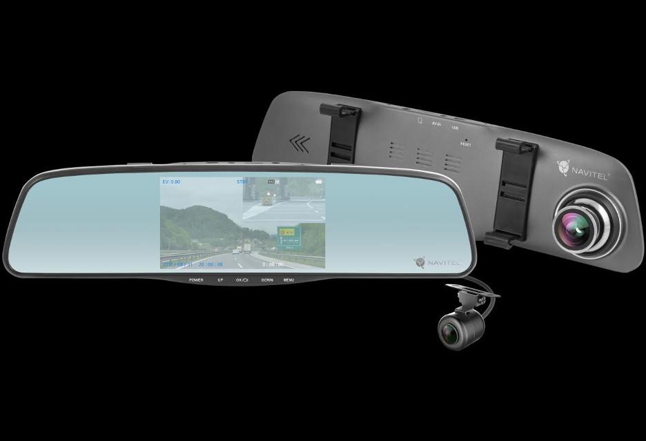 Samochodowe lusterko 3 w 1 - Navitel MR250