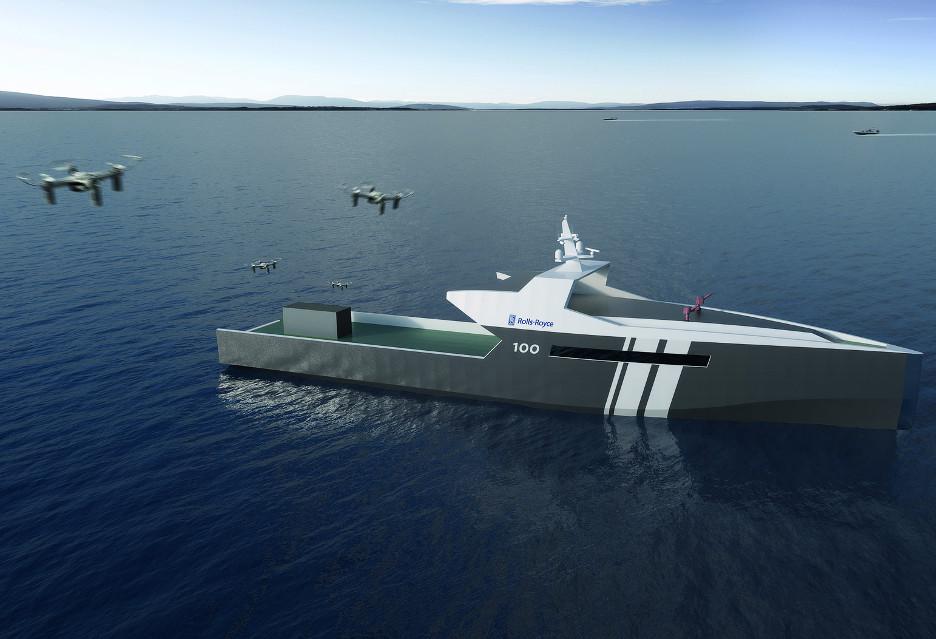Rolls-Royce PLC chce morskich operacji bez ludzi