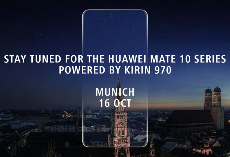 Huawei Mate 10 Pro ze smukłymi ramkami, ale bez czytnika linii papilarnych
