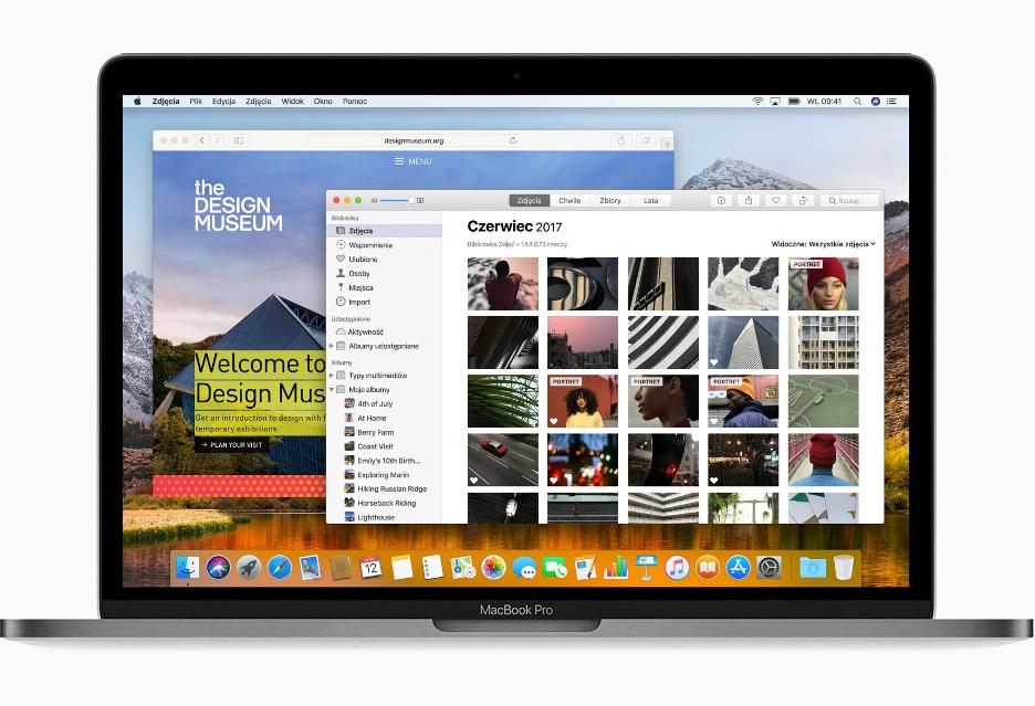 "macOS 10.13 ""High Sierra"" wskrócie"