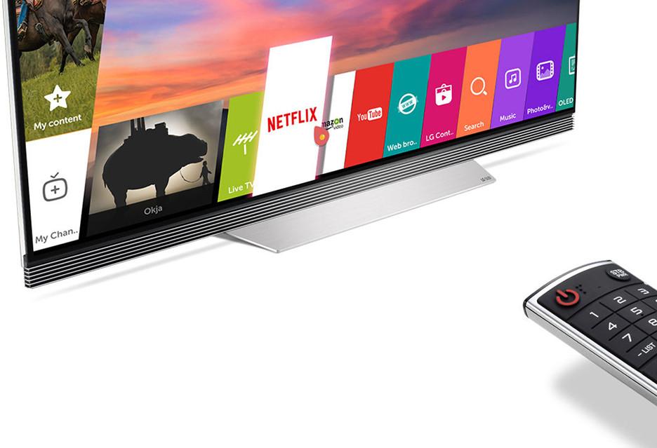 LG dorzuca Netfliksa do telewizora 4K