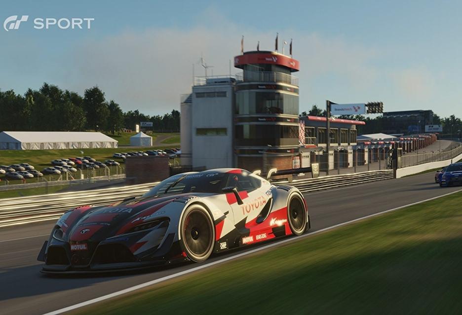 Niemal pół godziny jazdy z Gran Turismo Sport