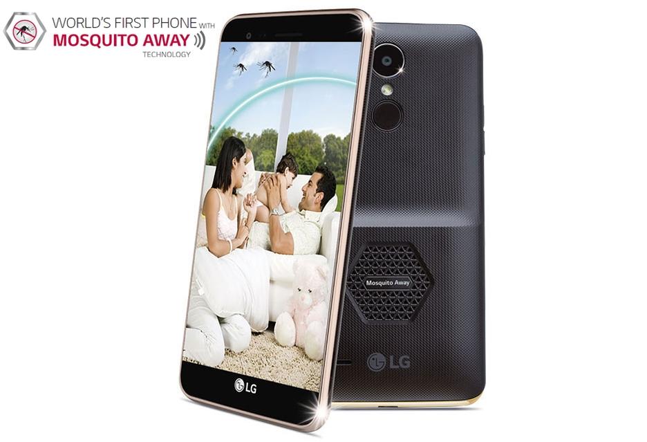 Smartfon z głośnikiem odstraszającym komary - oto LG K7i