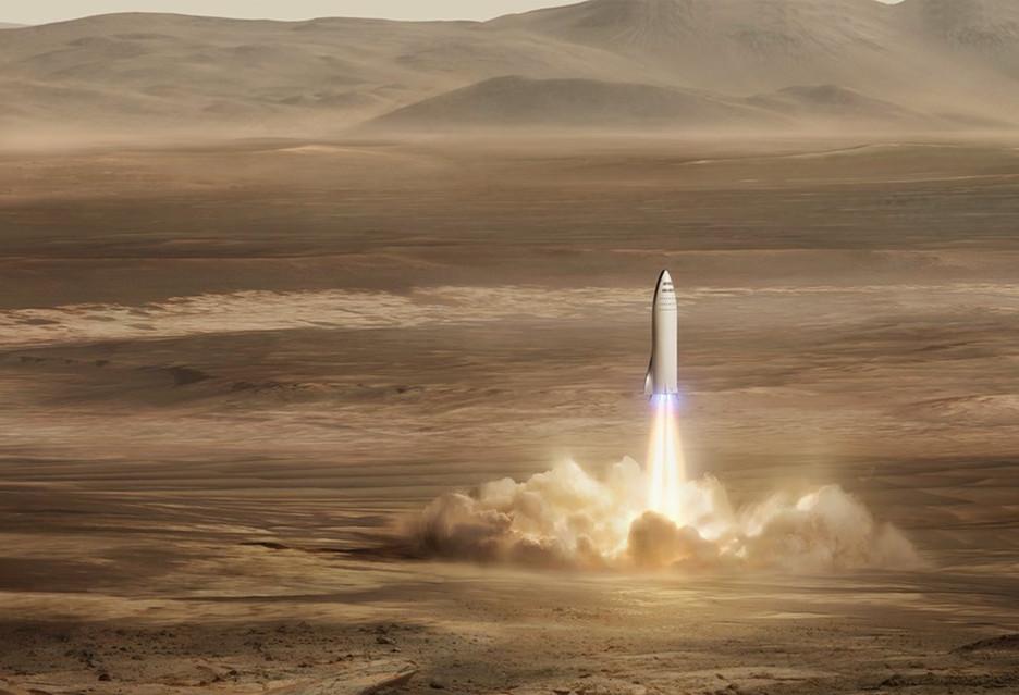 Kolonizacja Marsa według SpaceX - pierwsze loty w2022roku