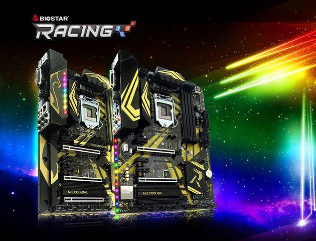 Biostar zapowiada płyty główne Racing Z370