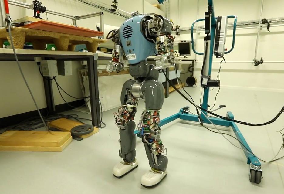 Robot uczy się chodzić naturalnie