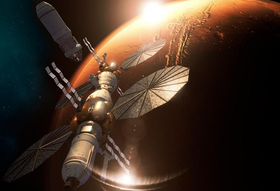 Mars na celowniku Lockheed Martin - chcą zbudować stację kosmiczną