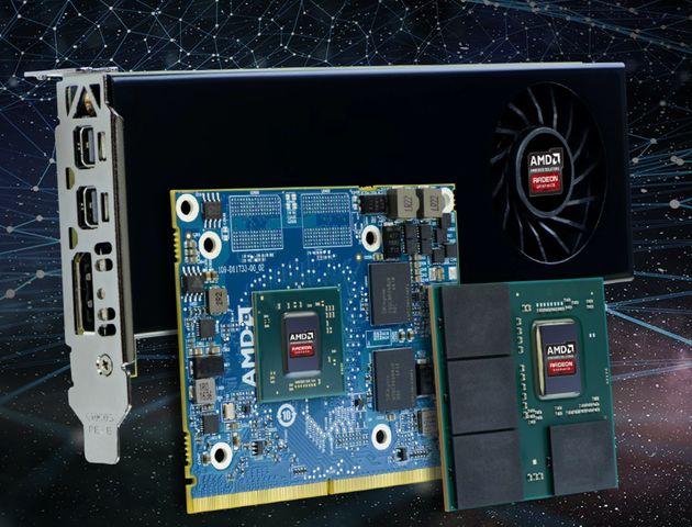 AMD prezentuje układy graficzne Radeon E9170 dla urządzeń wbudowanych