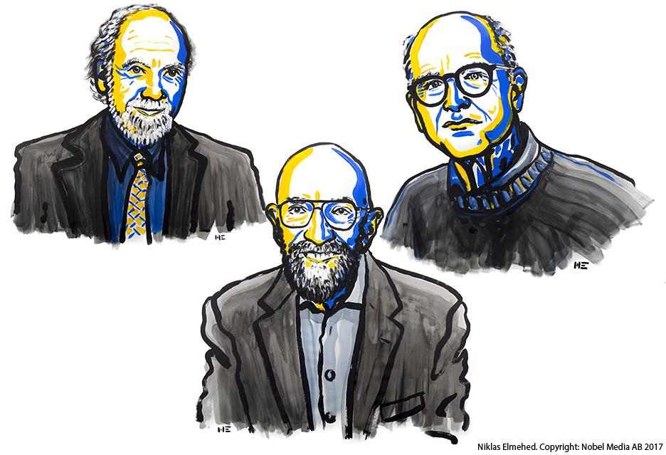 Nobel z fizyki w 2017 roku powędrował do odkrywców fal grawitacyjnych