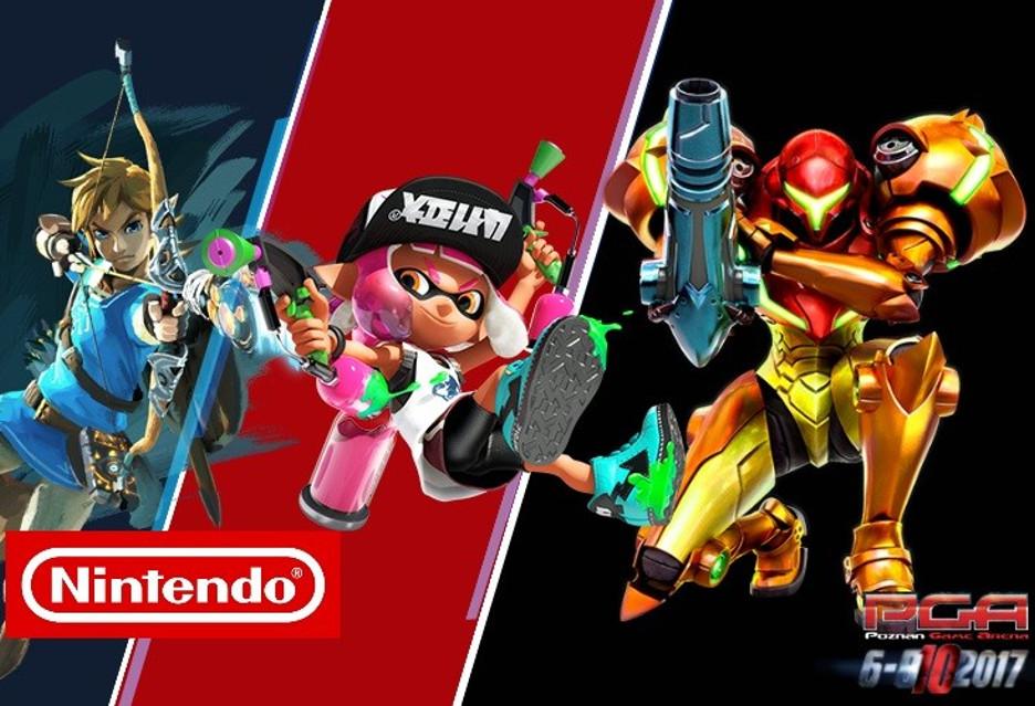Nintendo na PGA - pokaże nowości na konsole Switch i 3DS
