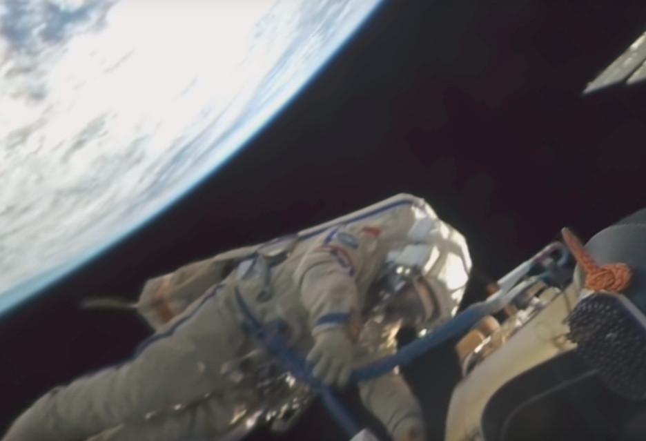Tak wygląda spacer kosmiczny (wideo 360 stopni)