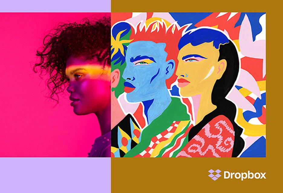 Dropbox przestał bać się kolorów