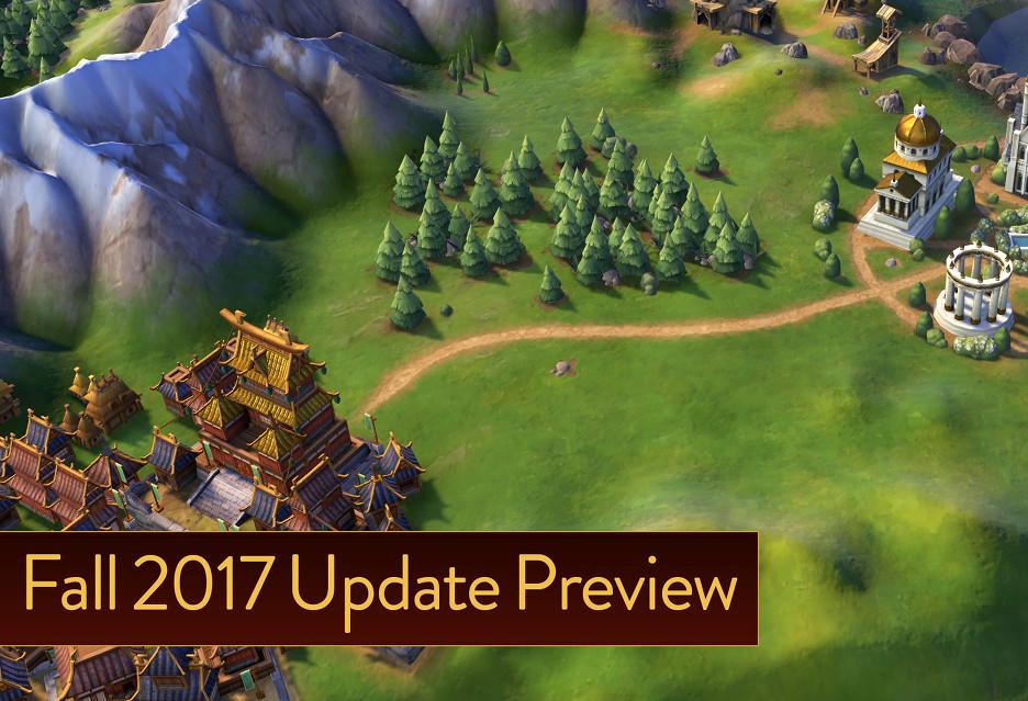 Civilization VI - aktualizacja w drodze