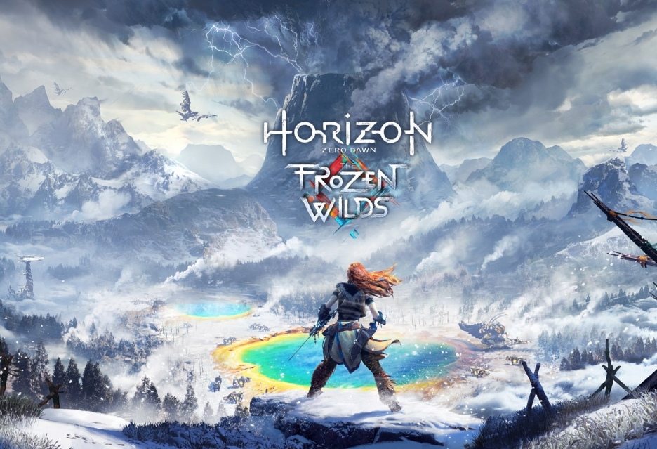 Rzut oka na śnieżne krajobrazy w Horizon Zero Dawn: The Frozen Wilds