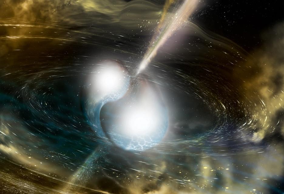 Zlewające się gwiazdy neutronowe - jak jedno odkrycie może zmienić astronomię
