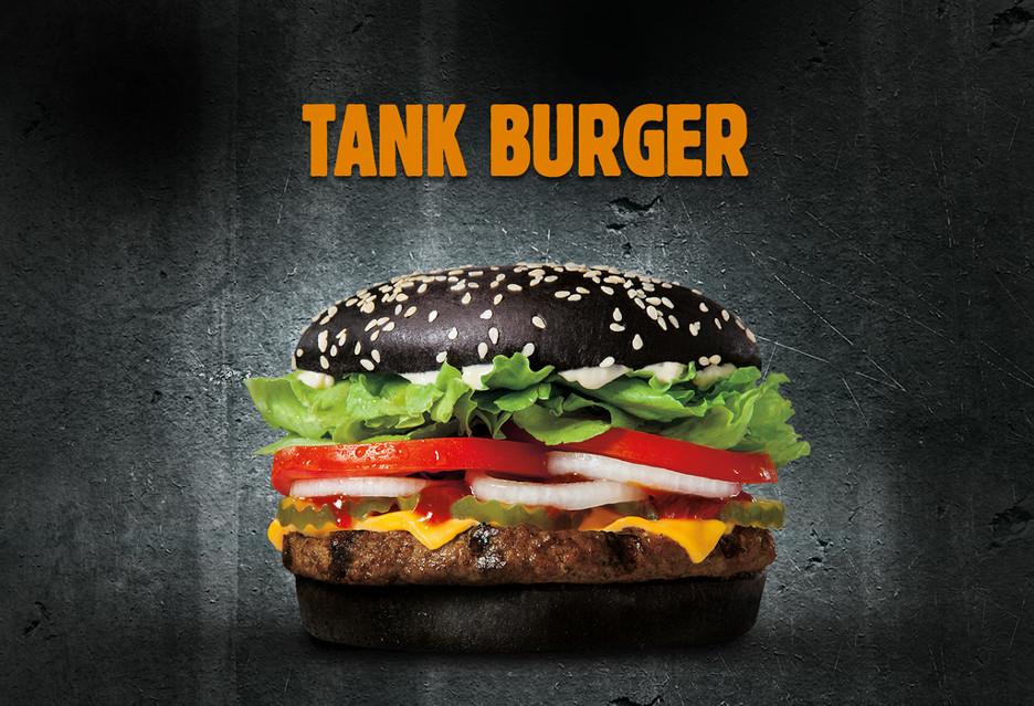 Tank Burger, czyli kanapka dla wirtualnego czołgisty