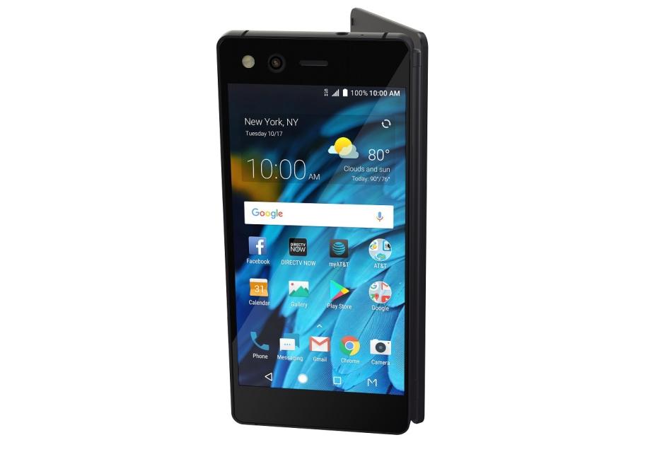 Oto ZTE Axon M - składany smartfon z dwoma ekranami