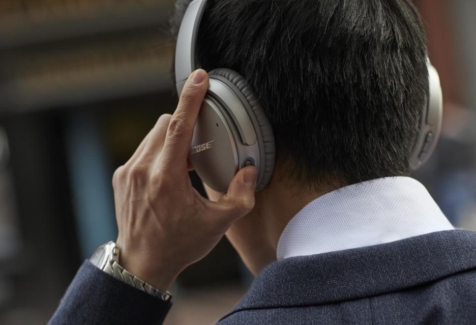 Bose udoskonala słuchawki bezprzewodowe Bose QC35