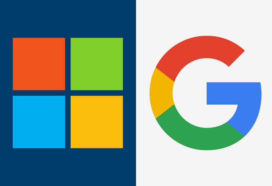 Microsoft vs Google: wojenka z bezpieczeństwem użytkowników w tle