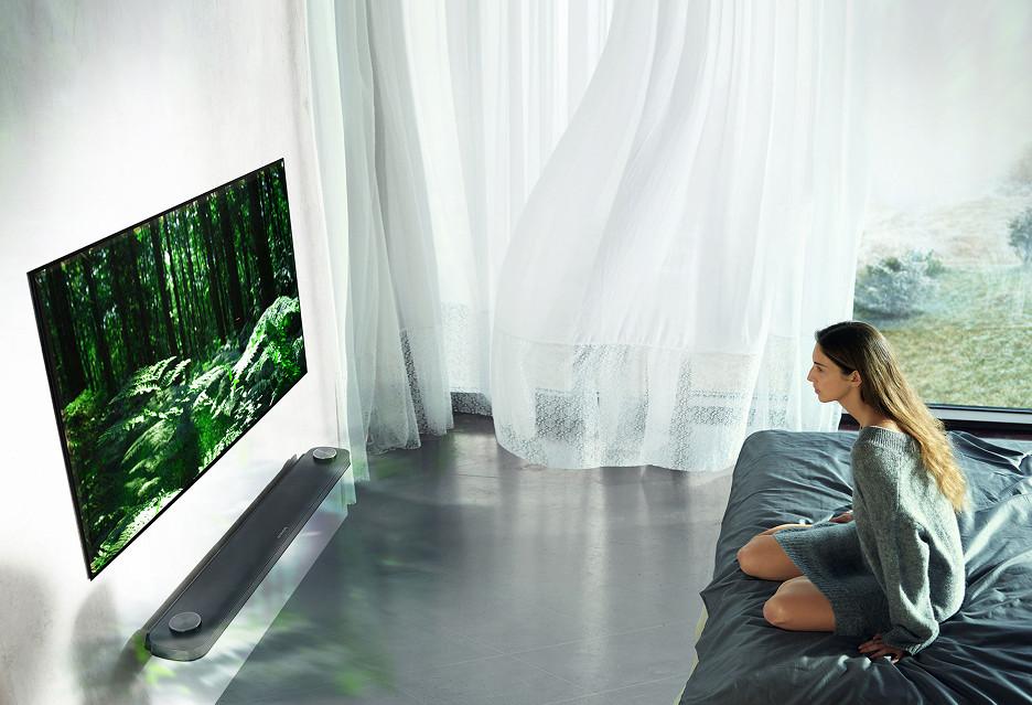 Telewizory LG OLED mają też zachwycać dźwiękiem