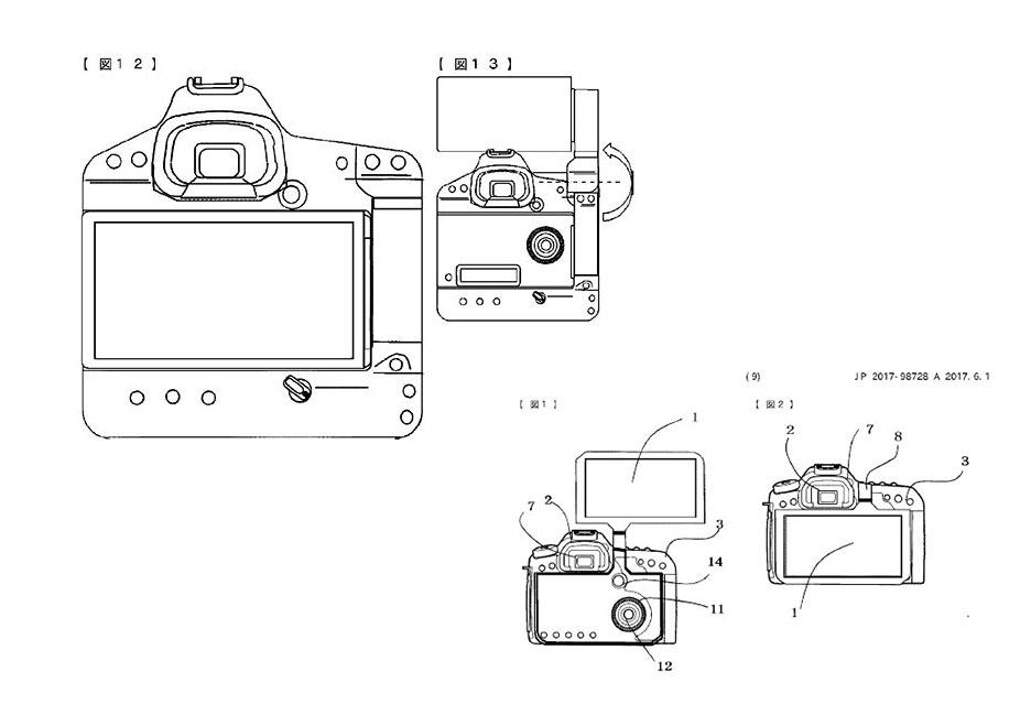 """""""Gigantyczne"""" ekrany podglądu przyszłością lustrzanek? - Canon zdaje się być na tak"""