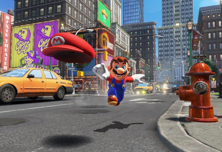 Super Mario Odyssey z nietypowym trybem kooperacji