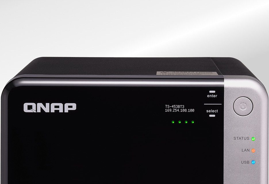 NAS dla cyfrowych twórców - QNAP TS-453BT3