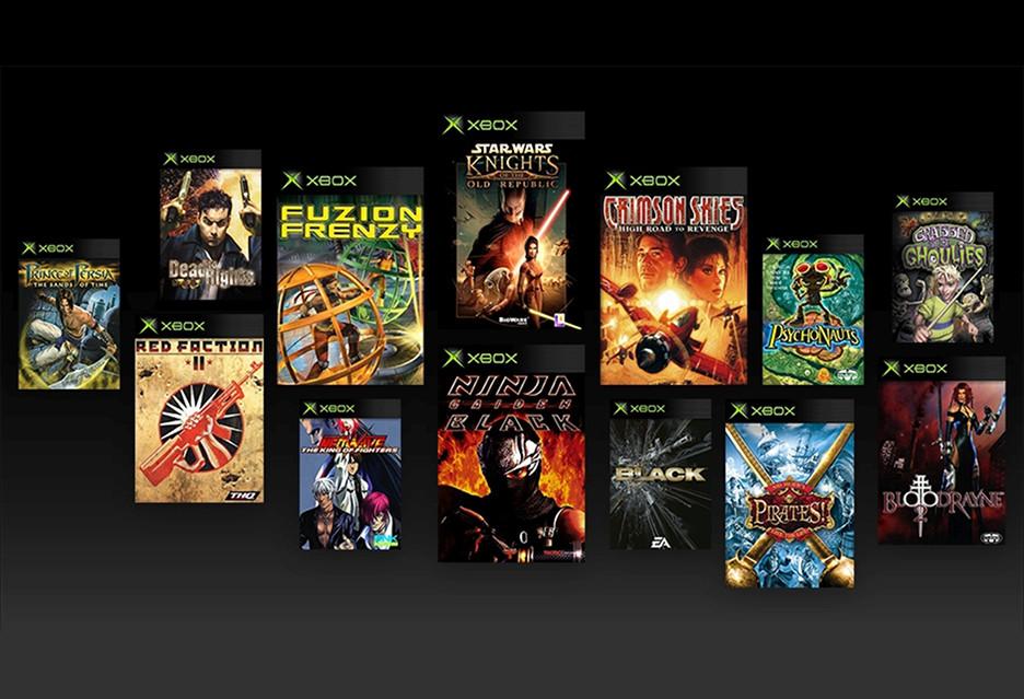 Gry z pierwszego Xboksa od dziś na Xbox One