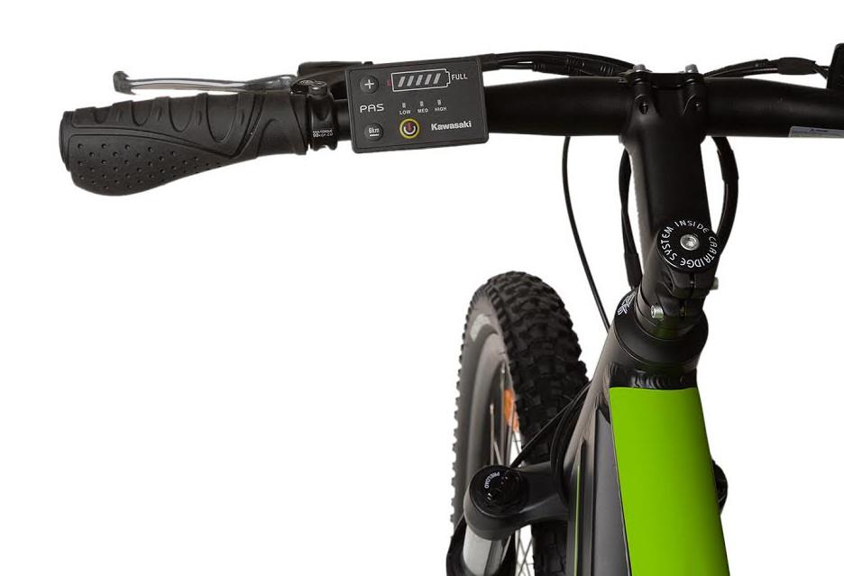 Nowy rower Kawasaki z silnikiem elektrycznym