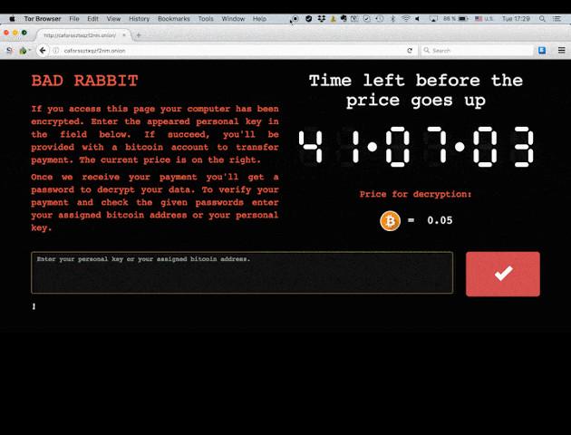 W Europie grasuje kolejne ransomware - Bad Rabbit
