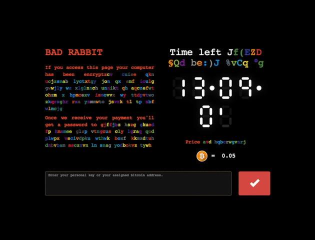 Atak z użyciem Bad Rabbit - jak to działa?