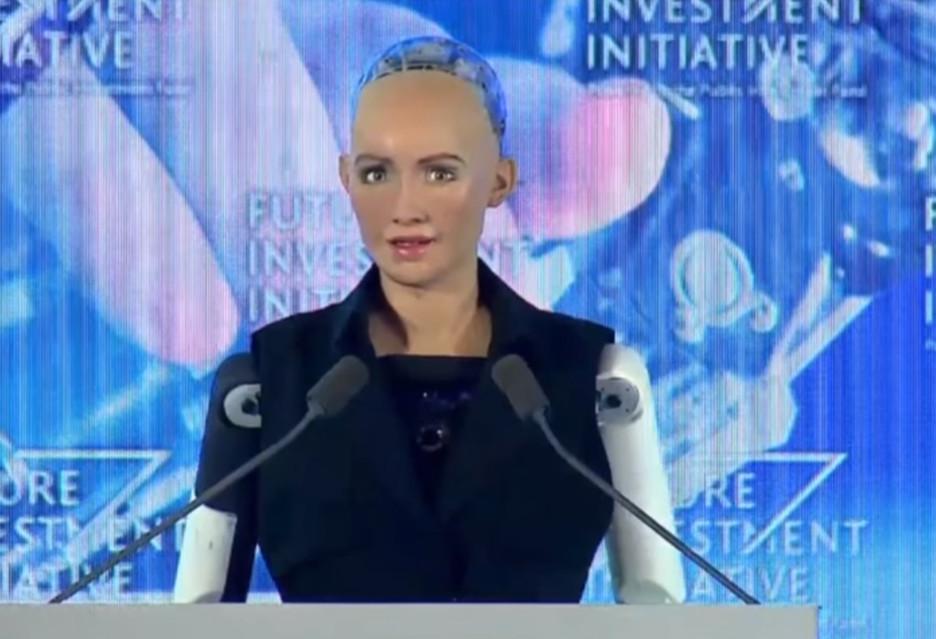 Sophia - pierwszy robot z obywatelstwem (saudyjskim)