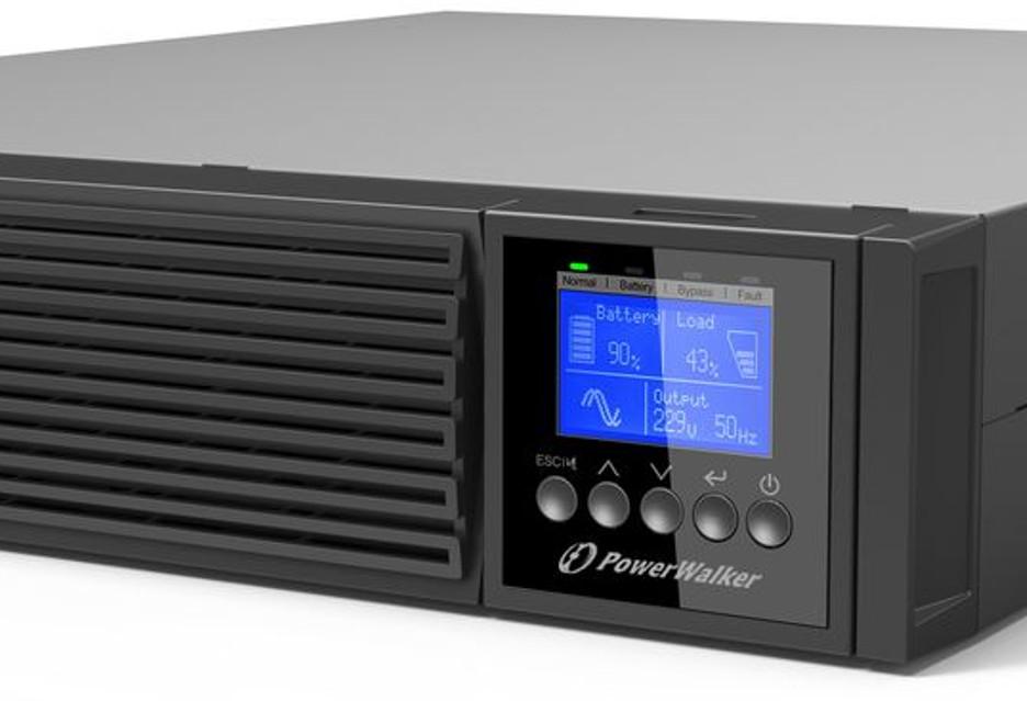 Mocne UPS-y do firmy - PowerWalker VFI RTG/RTGS