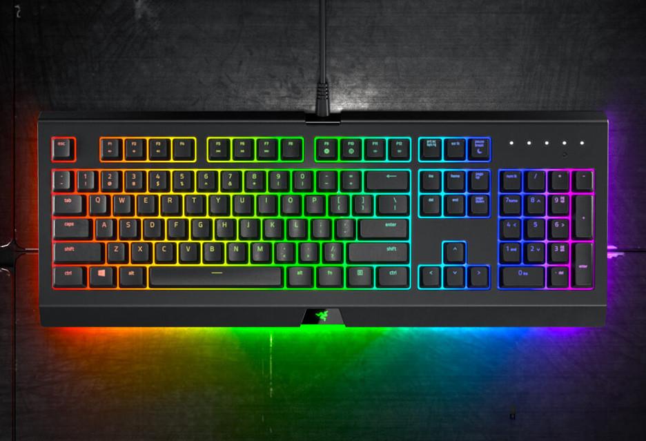 Razer Cynosa Chroma - nieco tańsza klawiatura z podświetleniem RGB